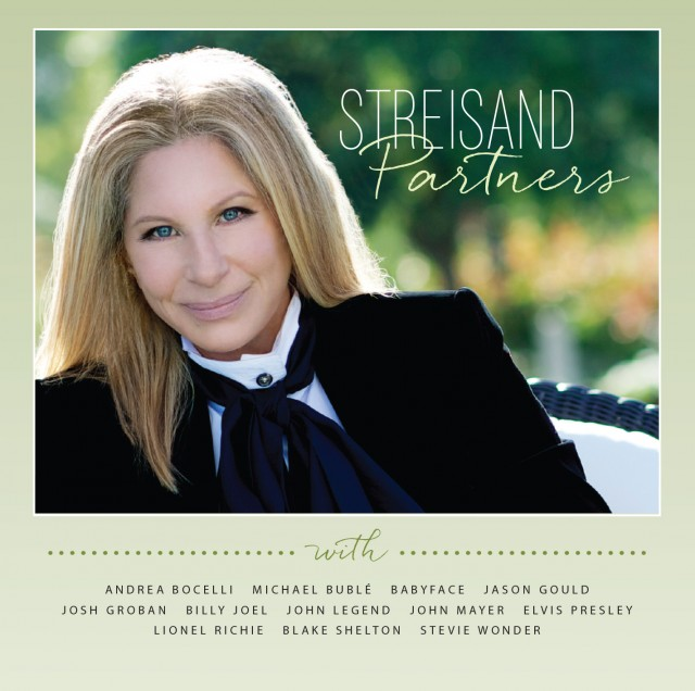 Streisand_Partners_Album Cover